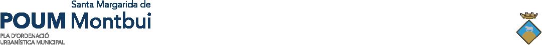 POUM de Santa Margarida de Montbui Logo